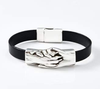 Hand & Paw Project Flat Leather Bracelet