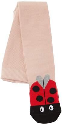 Stella McCartney Ladybugs Intarsia Cotton Tights