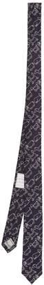 Thom Browne Toy Icon-jacquard silk tie