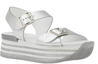 Hogan Leather Sandal