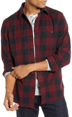 1901 Regular Fit Workwear Plaid Flannel Shirt