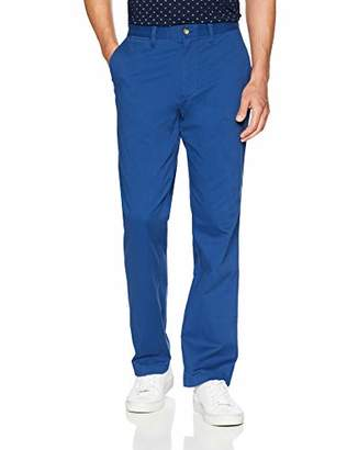Nautica Men's Classic Fit Flat Front Stretch Chino Deck Pant
