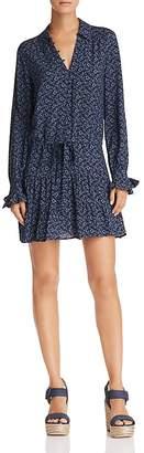 Paige Denisa Floral Drop-Waist Dress