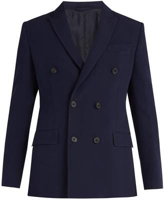 CONNOLLY Double-breasted peak-lapel blazer