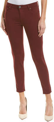 KUT from the Kloth Donna Deep Plum Ankle Skinny Leg