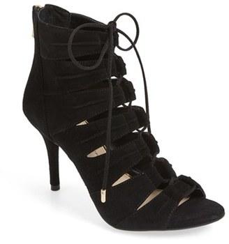 Women's Jessica Simpson 'Mahiri' Ghillie Open Toe Bootie $109.95 thestylecure.com