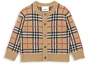 Burberry Baby's & Little Kid's Edie Archival Check Cardigan