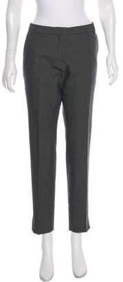 Dries Van Noten Wool-Blend Tweed Pants