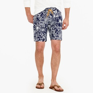 "9"" Board Short In Navy Floral $69.50 thestylecure.com"
