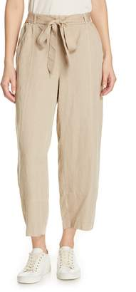 Eileen Fisher Lantern Twill Ankle Pants