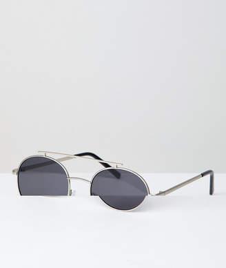 A. J. Morgan Aj Morgan AJ Morgan Round Sunglasses In Silver