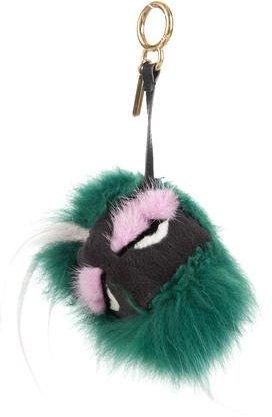 FendiFendi 2015 Minty Bag Bug Charm