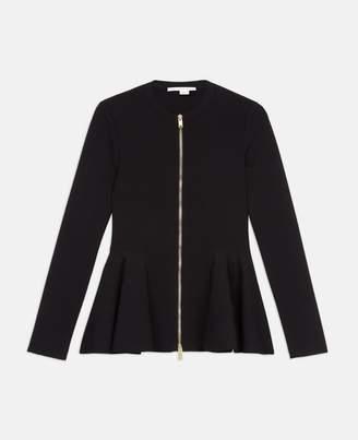Stella McCartney compact knit black jacket