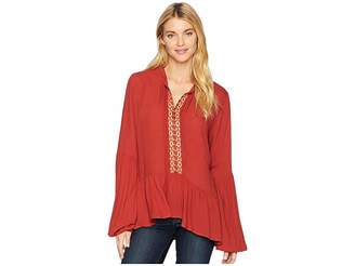 Stetson 2084 Rayon Crepe Peasant Women's Clothing