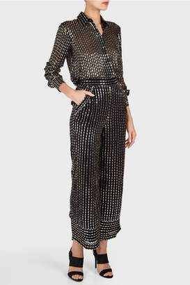 Temperley London Mosaico Wide Trousers