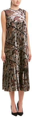 Lafayette 148 New York Melissa Silk-Blend Midi Dress