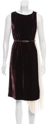 Rachel Roy Sleeveless Velvet Dress $95 thestylecure.com