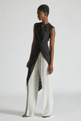 Yigal Azrouel Knotted Front Tunic Top
