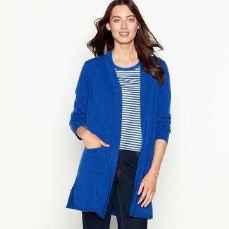89df8d77b3 at Debenhams · The Collection - Bright Blue Long Sleeve Cardigan