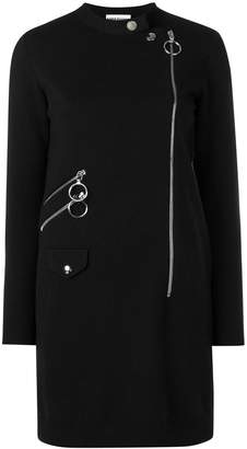 Moschino front zipped dress