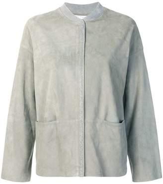 Fabiana Filippi zipped fitted jacket