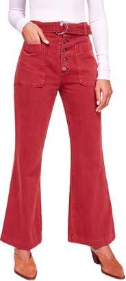 Free People Corin Mod Slim Flare Pants