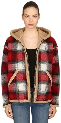 Reversible Plaid & Faux Shearling Jacket