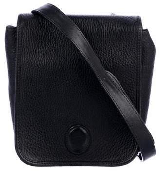 Mark Cross Grained Leather Mini Crossbody Bag