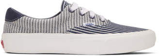Vans Navy and White Era 59 Vault LX Sneakers
