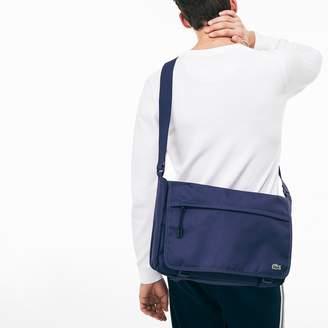 Lacoste Men's Neocroc Monochrome Canvas Flap Bag