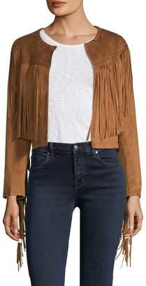 Bagatelle Women's Tassel Crop Jacket