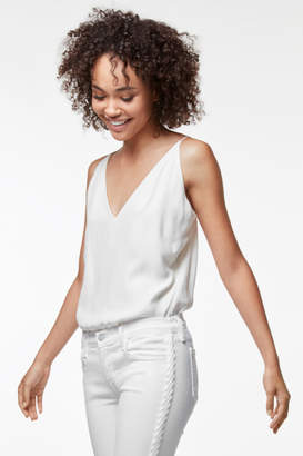 J Brand Lucy Silk Cami in White