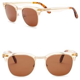 Toms Gavin 50mm Clubmaster Sunglasses
