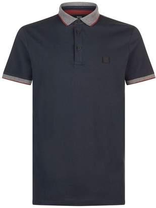 BOSS ORANGE Contrast Trim Polo Shirt