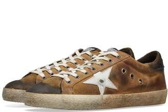 Golden Goose Superstar Nubuck Leather Sneaker