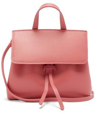 Mansur Gavriel Mini Mini Lady Leather Cross Body Bag - Womens - Pink