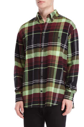 Cheap Monday Flannel Plaid Conduct Shirt