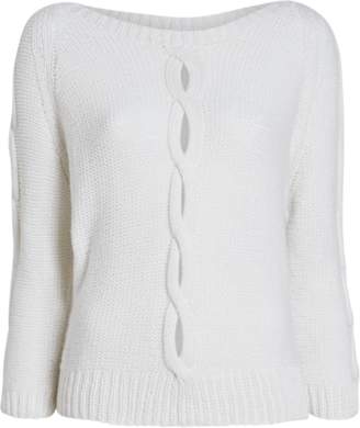 Hania New York Aram Open Cable Cashmere Sweater