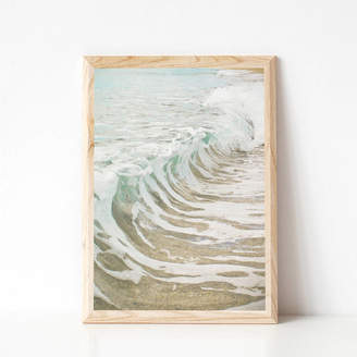 Cassia Beck Art and Photography Sea Foam Photographic Ocean Print