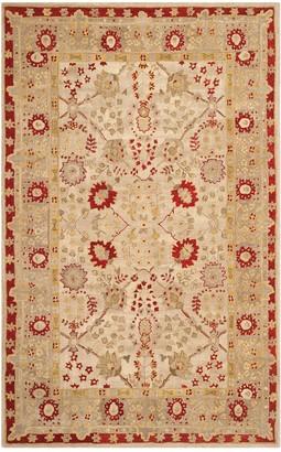 Safavieh Anatolia Charlotte Framed Floral Wool Rug