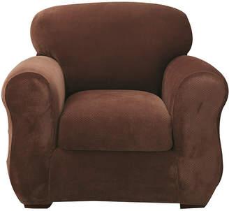 Sure Fit Stretch Piqu 2-pc. Chair Slipcover