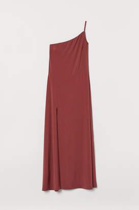 H&M One-shoulder Dress - Red