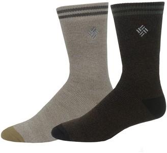 Columbia Men's 2-pack Medium Weight Thermal Crew Socks