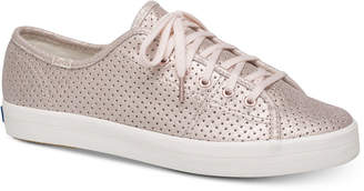 Kate Spade Keds for Kickstart Perforated Shimmer Sneakers
