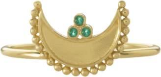 Amrapali Legend Heritage Crescent Ring