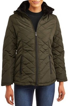 Big Chill Women's Quilted Heavy Puffer Jacket