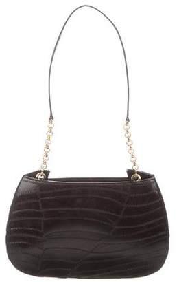 Charles Jourdan Leather Embossed Shoulder Bag