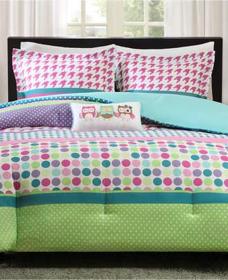 Mi Zone Katie 4-Pc. Reversible Full/Queen Comforter Set Bedding