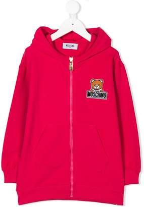 Moschino Kids teddybear print hoodie