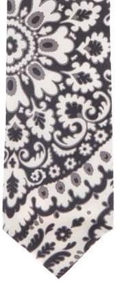 Tom Ford Floral Print Silk Tie